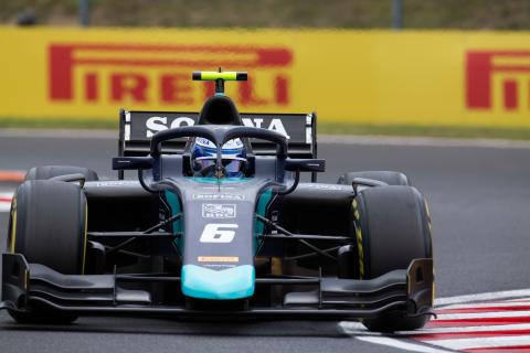 Latifi boosts F2 title hopes with Hungary Feature Race win