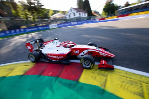 Armstrong takes muted F3 victory as racing resumes at Spa