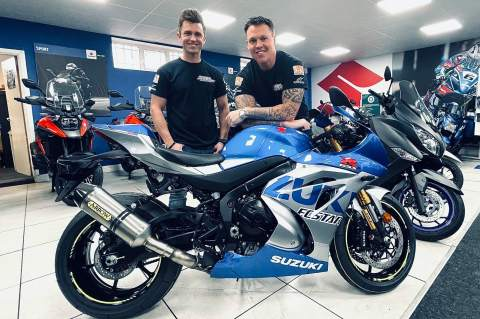Powerslide Motorcycles with Catfoss Suzuki join 2021 BSB grid with Bjorn Estment