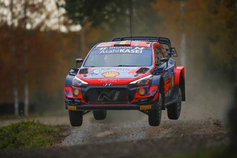 Engine damage forces Neuville out of Rally Finland