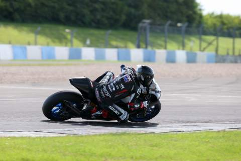 Buildbase Suzuki 'is a missile', Kent fifth in Donington BSB test