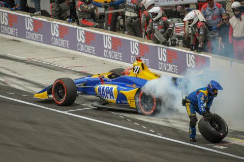 IndyCar Grand Prix of Indianapolis - Race Results
