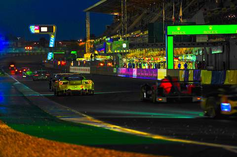 Le Mans 24 Hours - Night time Action [credit: Andrew Hartley]
