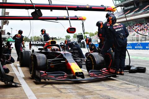 """Red Bull left surprised as Verstappen """"called himself in"""" for F1 pit stop"""