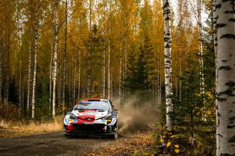 In-form Evans moves into the lead at Rally Finland