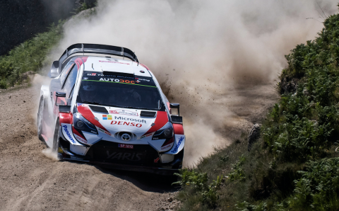 Tanak on cusp of WRC lead after second straight win