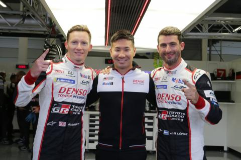 WEC 6 Hours of Silverstone - Starting Grid