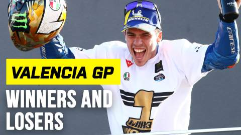 Mir the champion as Yamaha wins... yet loses - Valencia MotoGP Winners & Losers