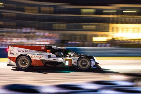 Toyota takes Sebring WEC victory led by #8 car