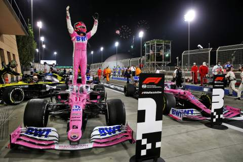 Perez claims stunning maiden F1 win at Sakhir GP after Mercedes tyre drama