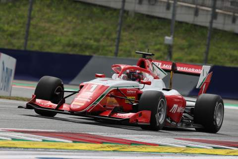 Hauger goes from 12th to first to win first Formula 3 Austrian sprint race
