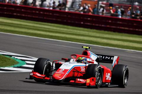 Piastri secures Formula 2 pole for Silverstone, points leader Zhou in second
