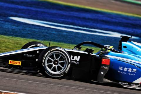 Zhou gets F2 title charge back on track with Silverstone feature race win