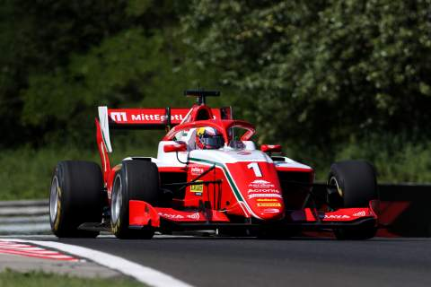 Hauger extends F3 points lead with wet weather victory in Hungary