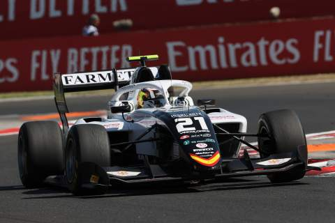 Colombo takes maiden Formula 3 victory in first Hungary sprint race