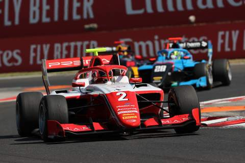 Leclerc beats Hauger to secure first Formula 3 pole of 2021 in Hungary