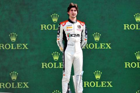 Colombo dominates first F3 sprint race at Spa in wet conditions