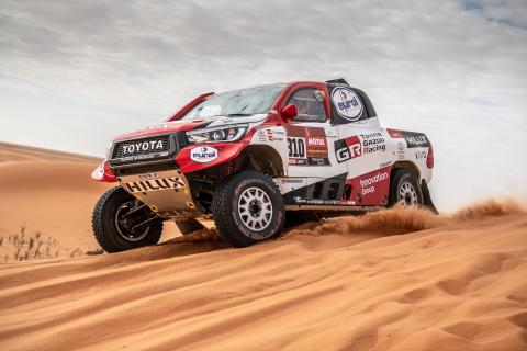 Alonso records best Dakar stage finish with P2