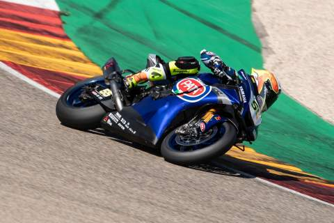 Aragon 'not easy for Yamaha, but feeling of my R1 is good' - Locatelli