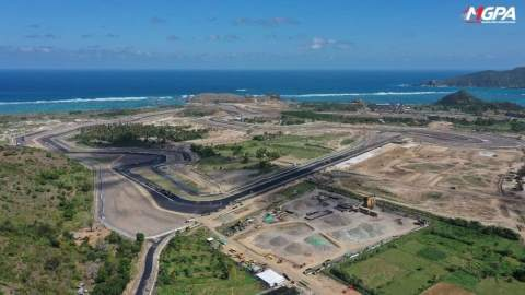 Mandalika Circuit 80% complete, homologation expected by end of July