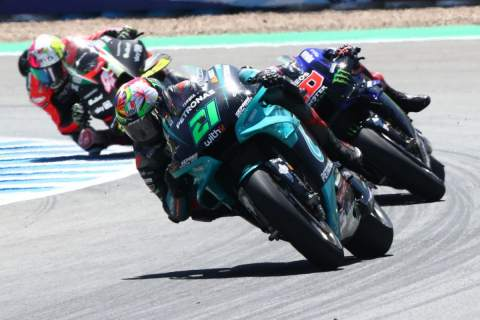 Morbidelli: Wonderful to be on the podium in Jerez, Le Mans a circuit I like