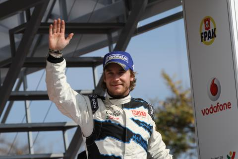 Podium, Second place, Mads Ostberg (NOR) Jonas Andersson (SUE), Ford Fiesta RS WRC, M-Sport Stobart