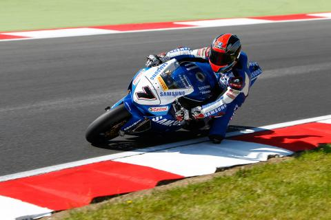 Michael Laverty Samsung Honda - [picture credit: Ian Hopgood Photography.com]