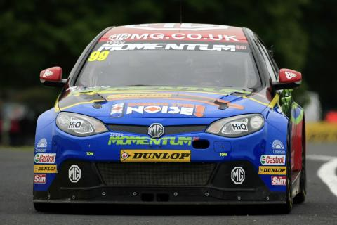 Jason Plato (GBR) MG KX Momentum Racing MG6 GT