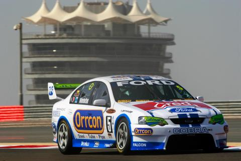 Mark Winterbottom (aust) Orccon Ford won the round outright