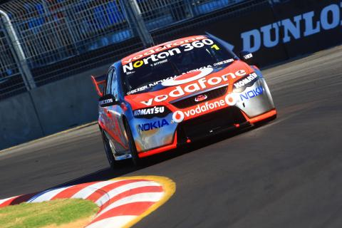 Jamie Whincup, (aust) Team Vodafone 888 Ford Races 11 & 12 V8 Supercars The Dunlop Townsville 40