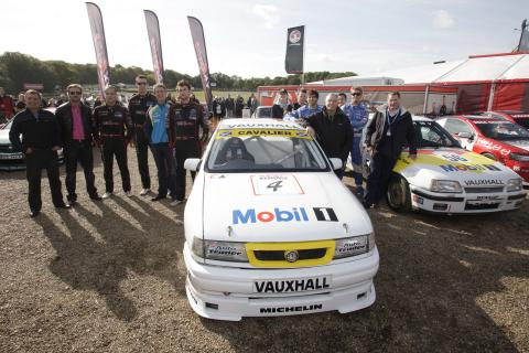 Past and present Vauxhall BTCC Drivers