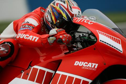 Checa puts Ducati up front.
