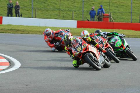 Byrne tops final practice from Iddon