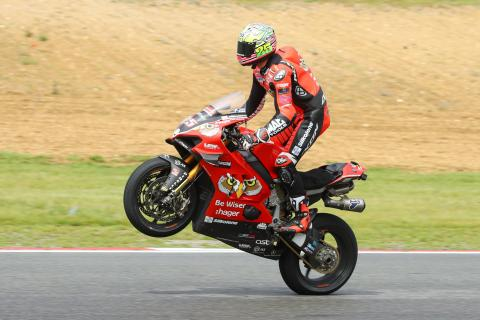 Brookes battles back to win and claim BSB title lead