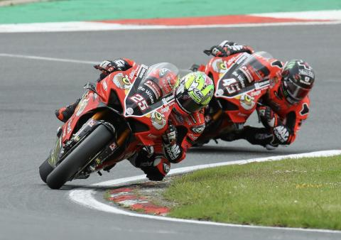Brookes fends off Redding to keep BSB title fight alive