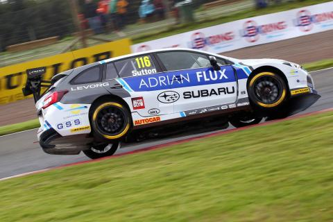 Sutton leads Plato to clinch race two victory