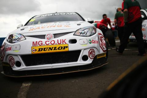 AmD Tuning.com expands BTCC programme with MG deal