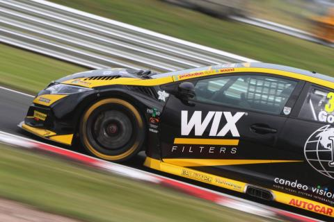 Goff on top, Gow tests BTCC car