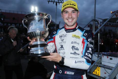Ingram hails 'absolutely superb' BTCC campaign