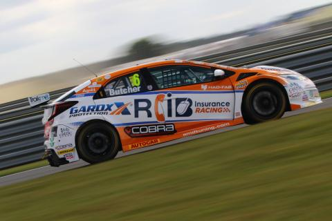 Butcher snatches victory in race three thriller