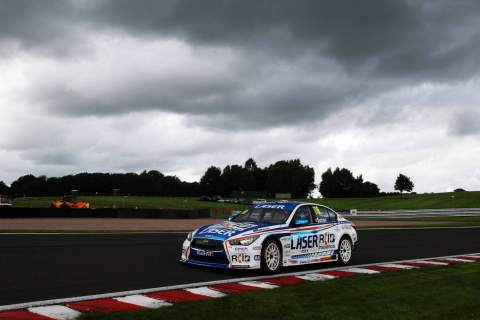 Sutton charges to race two win