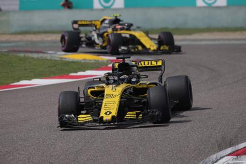 Renault 'disappointed' by gap to top three F1 teams