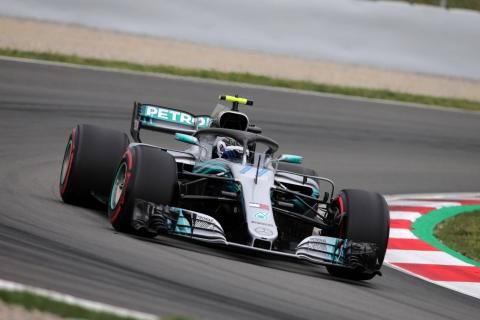 Bottas ends final Barcelona in-season F1 test day on top