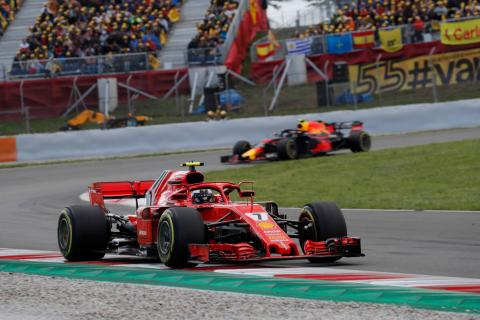 """Raikkonen: One-stop Spanish GP strategy would have been """"easy"""""""