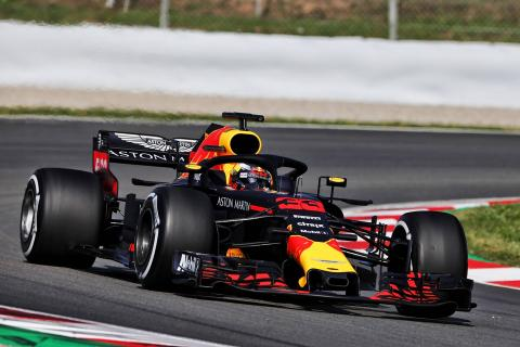 Verstappen tops opening day of in-season Barcelona F1 test