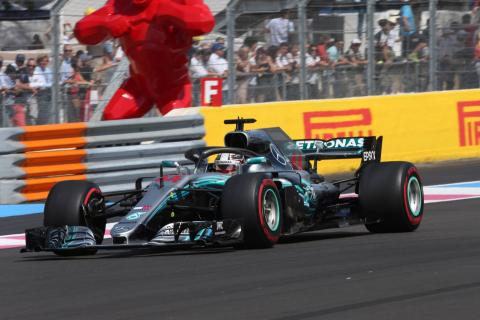 Hamilton cruises to French GP victory; Vettel P5 after clash