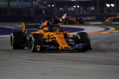 Alonso hails 'perfect' P11 in Singapore GP qualifying