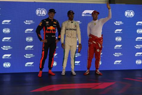 F1 Singapore GP - Starting Grid