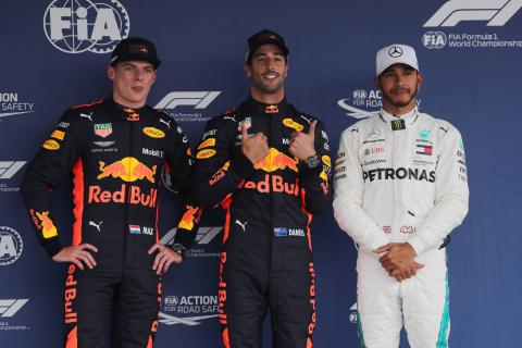 F1 Mexican GP - Starting Grid