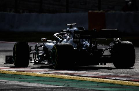 Barcelona F1 Test 1 Times - Wednesday 4PM